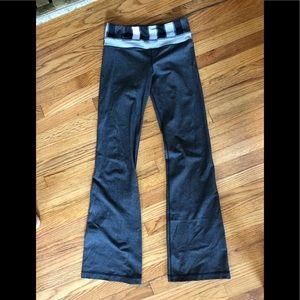 Dark Grey Lululemon Flare Leggings size 2